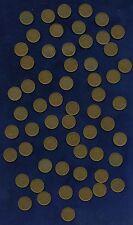 MACAU / MACAO (CHINA)  1952  5 AVOS COINS, MOSTLY XF, A FEW AU, LOT OF (59)