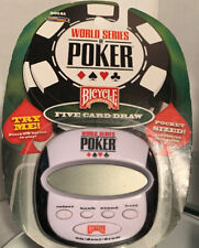 World Series Of Poker Bicycle Hand Held Electronic Game New In Package