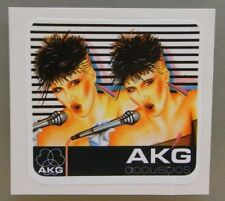1x Sticker - Decal : AKG Acoustics with org.back 80/90's (08663)