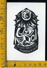 Ex Libris Originale Alexandro Radulescu c 090