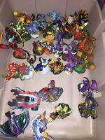 Skylanders 32 Various Figure Lot Giants SuperChargers Swap Force SCARLET NINJINI