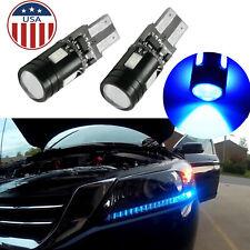 2PCS Ice Blue LED Light Bulbs for 2013-2015 Honda Accord Headlight Strip Bulbs