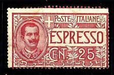 ITALIA - Regno - Espresso - 1903 - Effigie di Vittorio Emanuele III° - 25 cent.