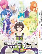ANIME DVD Kujira no Kora wa Sajou no Utau  Vol.1-12 End Eng Subs + FREE DVD