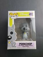 Funko POP! Disney PORKCHOP #412 Collectible Vinyl Figure Box Damage