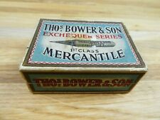 Vintage Thos Bower & Son Empty pen nib box, display / prop.