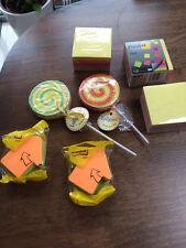 Selezione di 5 pacchi di POST IT APPUNTI/Sticky Notes e 2 lollypads. NUOVO