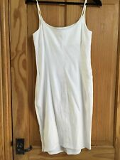 ARMANI JEANS WHITE LINEN DRESS, CAMI TOP - NEW