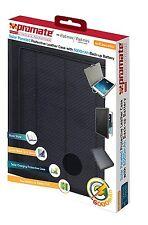 Funda Protectora de Cuero con paneles de protección solar con 6000mAh batería de respaldo Ipad Min