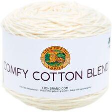 Lion Brand Confortable en Coton mélangé de fils-Crème Fouettée
