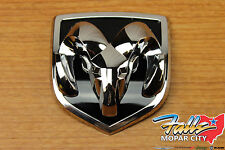 2002-2005 Dodge Ram 1500 2500 3500 Ram's Head Grille Emblem Badge Mopar OEM