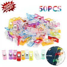 Plastic Wonder Clips Quilting Sewing Knitting Crochet Craft Sewing Crochet Tool