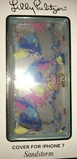 Lilly Pulitzer Phone Hard Cover Apple Iphone 7 Sandstorm Tropical Fish  Multi