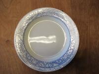 """Churchill England FRESCO BLUE Dinner Plate 10 3/8"""" 1 ea   3 available"""