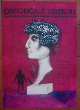 The Dock Brief - James Hill - Karczewska - Polish Poster