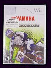 NEW, SEALED, Yamaha Supercross, Nintendo Wii, 2008, Free Shipping