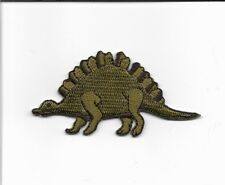 Dinosaur Stegosaurus Embroidered Patch Applique wx0013