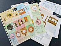 VINTAGE SPARTUS Style Setting Clocks + price list 1962 Pages Manar Sales Catalog
