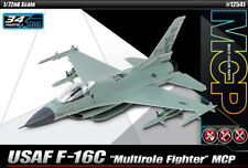 Academy 1/72 F-16C USAF Multirole Fighter MCP Plastic Model Kit 12541 ACY12541