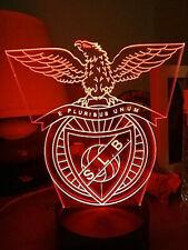 SL Benfica Lisboa Portugal 3D Soccer Led Lamp Futbol Night Light