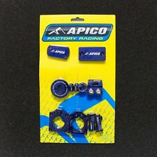 RMZ 250 07-17 RMZ 450 05-17 BLING PACK AXLE BLOCKS CYLINDER COVER PLUGS BLUE