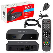 MAG 420 Original Infomir 4K IPTV Set TOP Box Multimedia Player TV