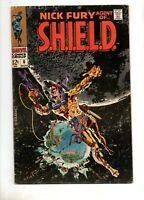 Nick Fury, Agent of SHIELD #6 STERANKO ASTRONAUT FURY COVER 1968, MARVEL!