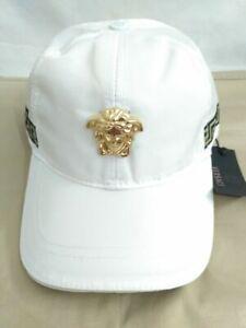 New Versace Unisex Hat Golf Cap Sport Baseball Outdoor Adjustable White Hat