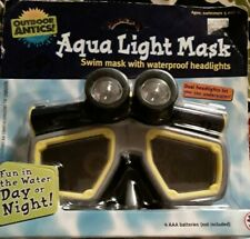 New Aqua light Adult Face Diving Mask For Scuba Swimming Snorkeling Water Sports