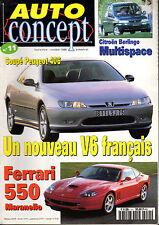 REVUE MAGAZINE AUTO CONCEPT N°33 11/12 2000 CITROEN C5 VW LUPO FSI ALFA ROMEO147