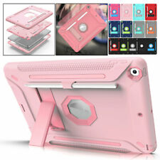 "For Apple iPad 8 / 7 / 6 / 5th Generation 10.2"" 9.7"" Shockproof Armor Stand Case"