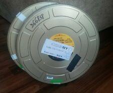 golden CSI NY production Movie Film 2 Metal Reel Cans kodak 1000 ft
