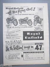 R&L Ex-Mag Advert: Royal Enfield Crusader Sport, Constellation, Crusader Airflow