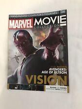 Problema de colección de película MARVEL 34 sólo revista visión EAGLEMOSS