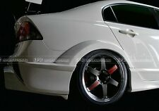 For Honda Civic FD2 M & M Rear Wide Fender Flares Arch 4PCS Kit Carbon Fiber