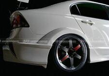 For Honda Civic FD2 M & M Rear Wide Fender Flares Arch 4PCS Kit Carbon Fiber