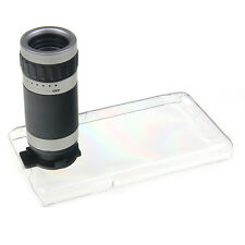 8X Zoom Camera Phone Telescope Lens Case Cover for Samsung Galaxy S2 II GT-i9100