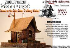 Short Line Stone Depot Kit Tom Yorke/Scale Model Masterpieces HO Fine Craftsman