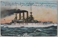 1912 Battleship Missouri Postcard