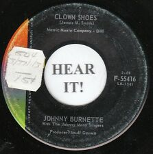 Johnny Burnette ROCKABILLY 45 (Liberty 55416) Clown Shoes/The Way I Am