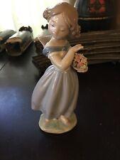 "Vintage Lladro Figurine ""Adorable Innocence"" #8247 Utopia 2006 So Darling W/Box"