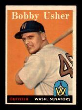 1958 Topps #124 BOBBY USHER VG-EX+ *y6