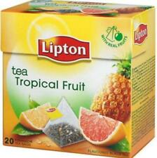 Lipton Tropical Fruit Flavor Tea 20 Silk Pyramid Bags