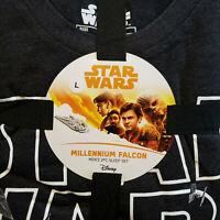 Star Wars Millenium Falcon 2-Pc Sleep Set Lounge Pants T-Shirt Men's Sz M-XL New
