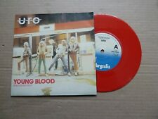 "UFO - YOUNG BLOOD - 7"" P/S - BLOOD RED VINYL - MICHAEL SCHENKER / PHIL MOGG"