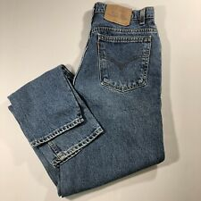 Vtg 90s LEVIs 921 Size 12 30x31 Orange Tab Tapered Fit Tapered Leg Mom Jeans