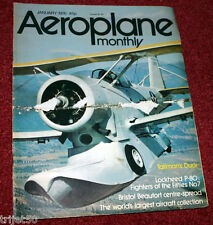 Aeroplane Monthly Magazine 1976 January Concorde,Davis Monthan,Duck,P-80
