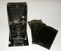 Zeiss Ikon Donata 9x12 PLATE CAMERA WITH Carl Zeiss PREMINAR 1:4.5/13.5 lens