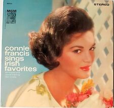 CONNIE FRANCIS sings Irish Favorites MGM HiFi SE4013 LP 33 rpm vinyl record