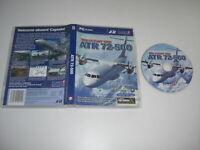 The Flight One ATR 72-500 Pc Cd Rom nm Add-On Flight Simulator Sim X & 2004 FSX